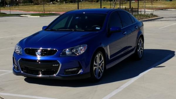 Showcase cover image for Chevy SS