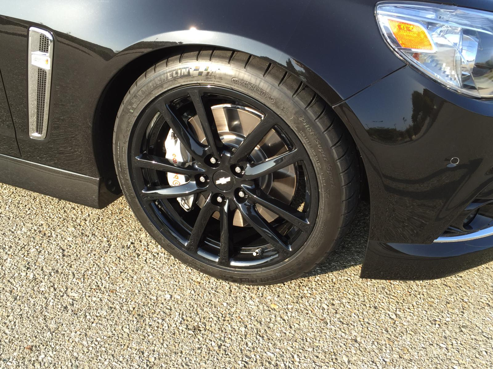 Stock Wheels In Black Chevy Ss Forum
