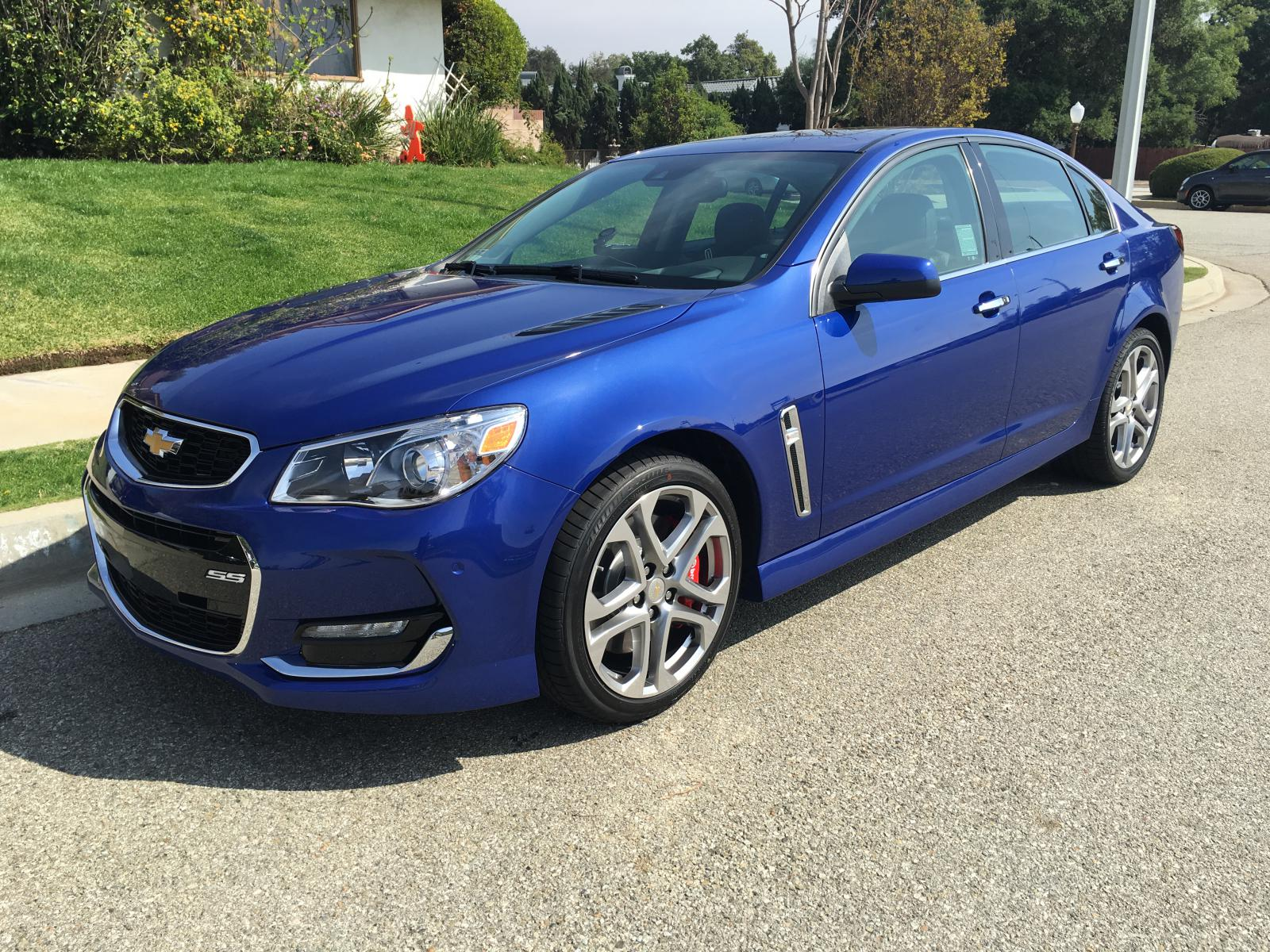 Slipstream Blue Metallic Chevrolet SS Picture Thread - Page 3 ...